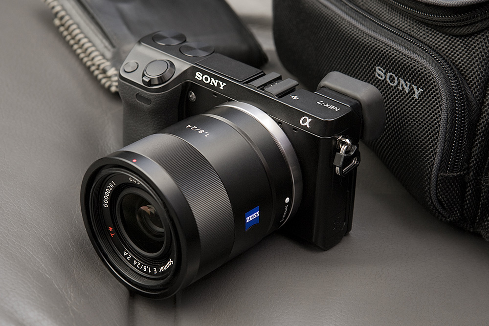 Sony NEX-7 with Zeiss 24/1.8.